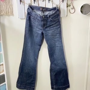 KUT FROM THE KLOTH WIDE LEG JEANS SIZE 6 💋💋